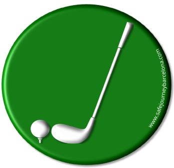 Safe Journey Barcelona Golf Logo